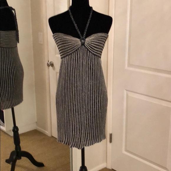 Missoni Dresses & Skirts - MISSONI metallic halter dress tie dress